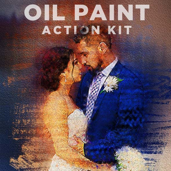 Oil Paint Action Kit