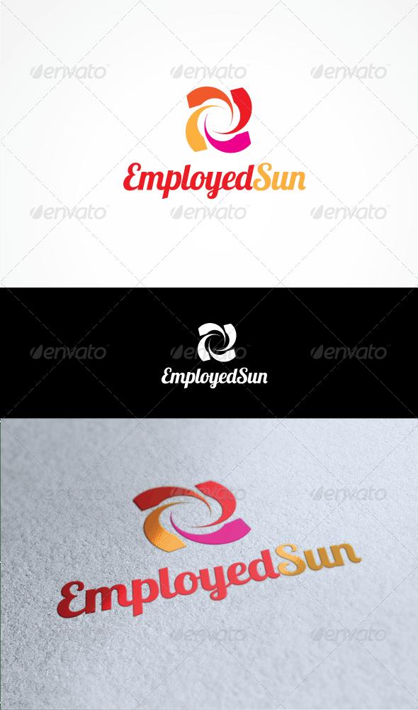 employed sun - Vector Abstract