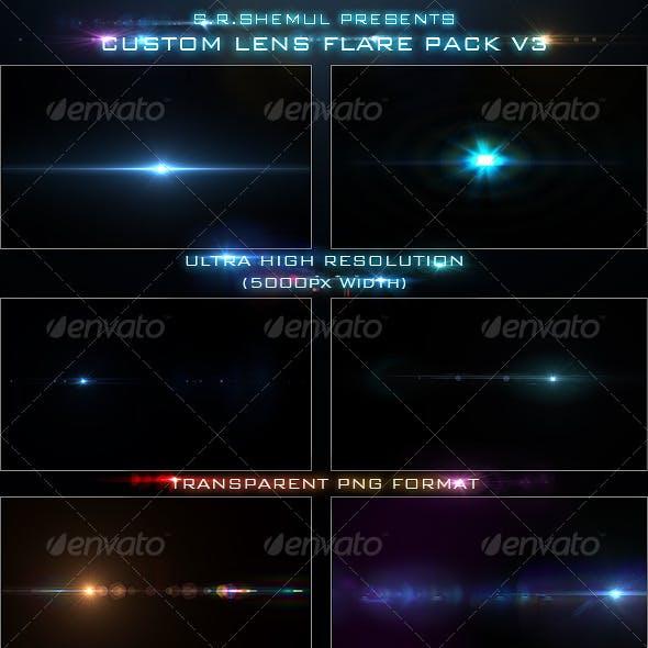 Custom Lens Flare Pack V3
