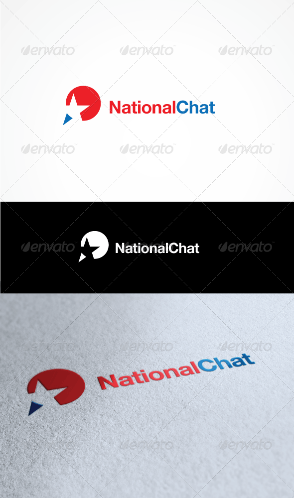 National Chat - Vector Abstract