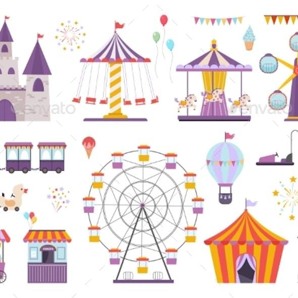 Amusement Park Set