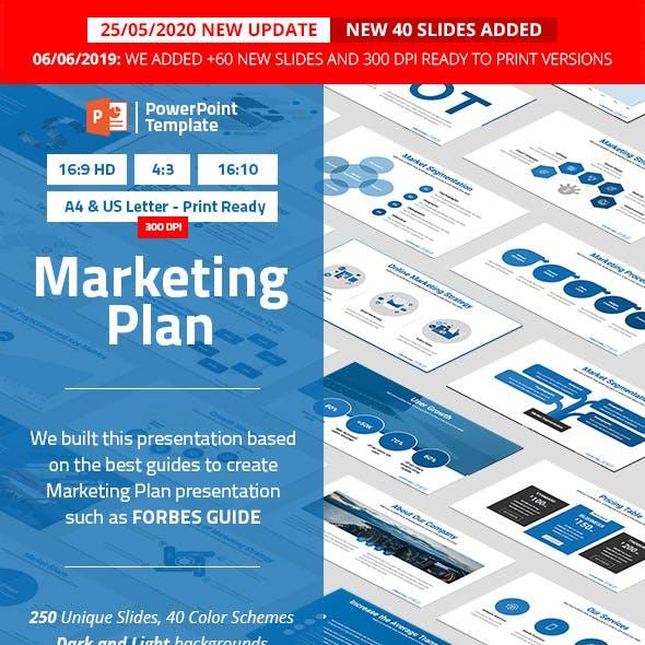 Marketing Plan PowerPoint Presentation Template