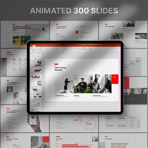 Bazz Powerpoint Template