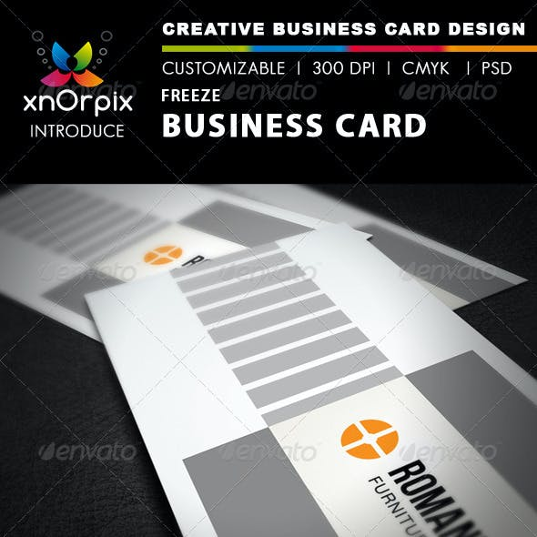 Freeze Business Card