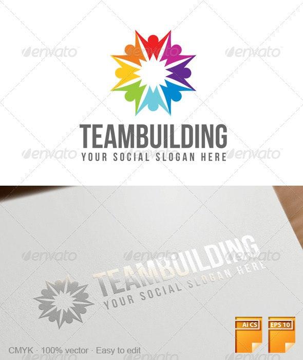 Teambuilding Logo - Abstract Logo Templates