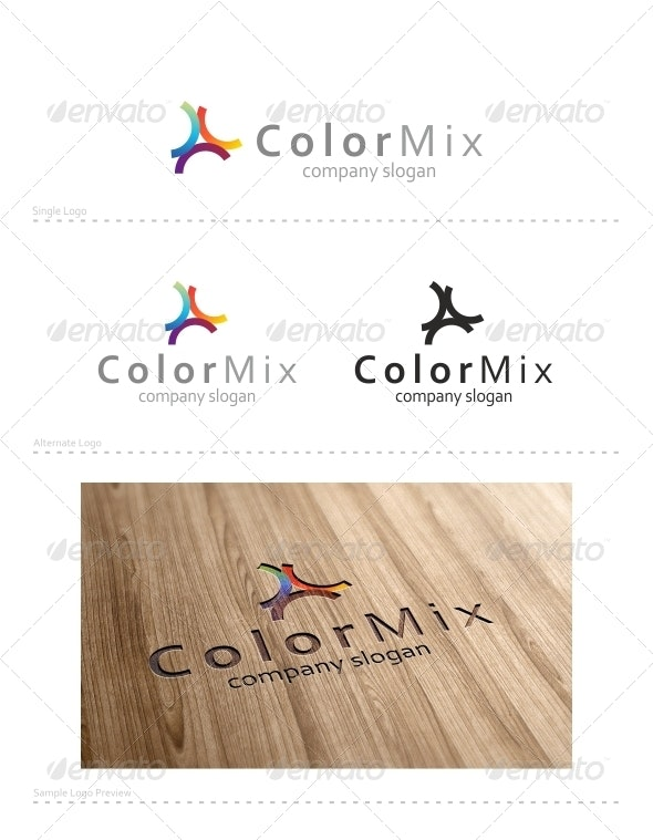 Color Mix - Vector Abstract