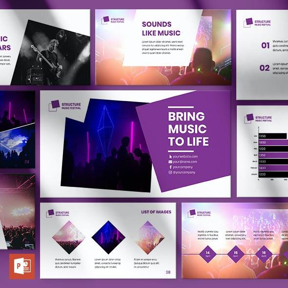 Music Festival PowerPoint Presentation Template