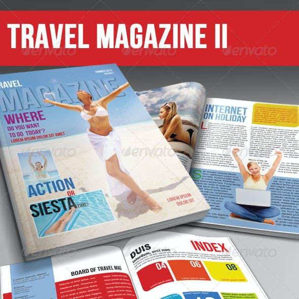 Travel Magazine Template Ver.II