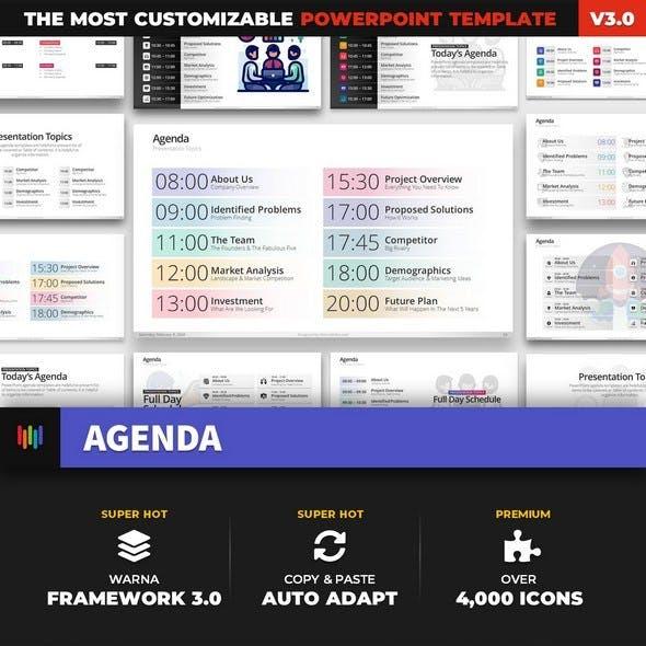 Agenda Meeting PowerPoint Template