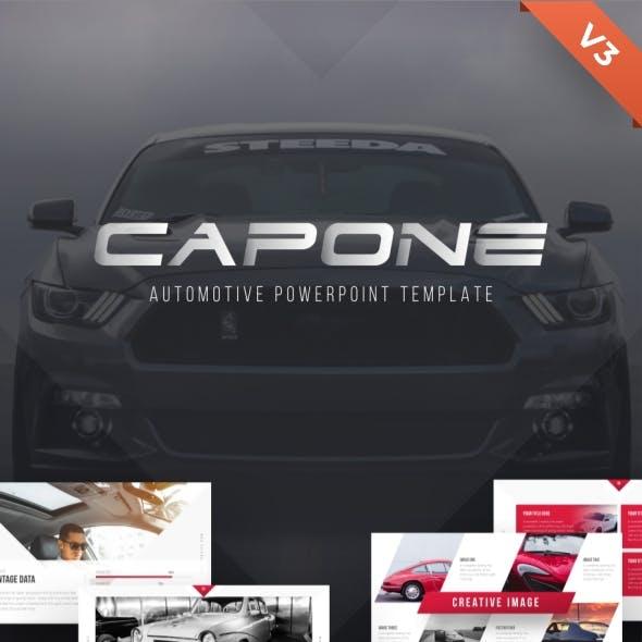 Capone Automotive Presentation Template