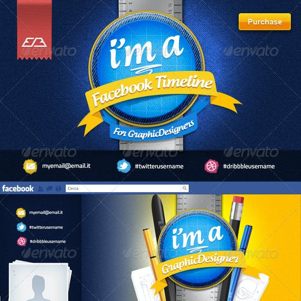 GraphicDesigner - Facebook Timeline Cover