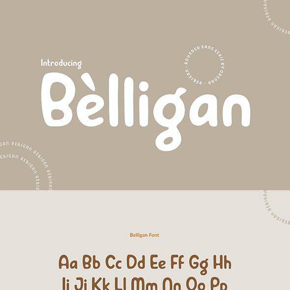 Belligan ~ Rounded Sans