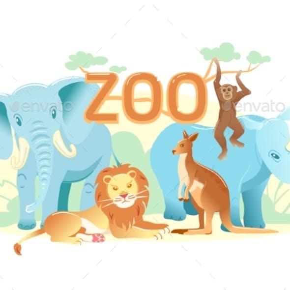Zoo Flat Web Banner