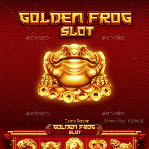 Chinese Golden Frog Slot Game Kit