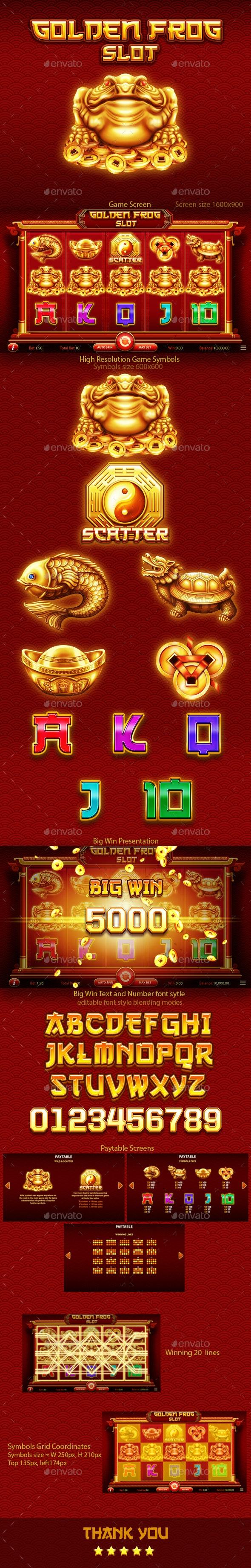 Chinese Golden Frog Slot Game Kit