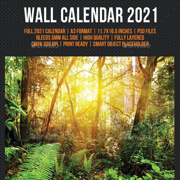 Creative Wall Calendar 2021 V01