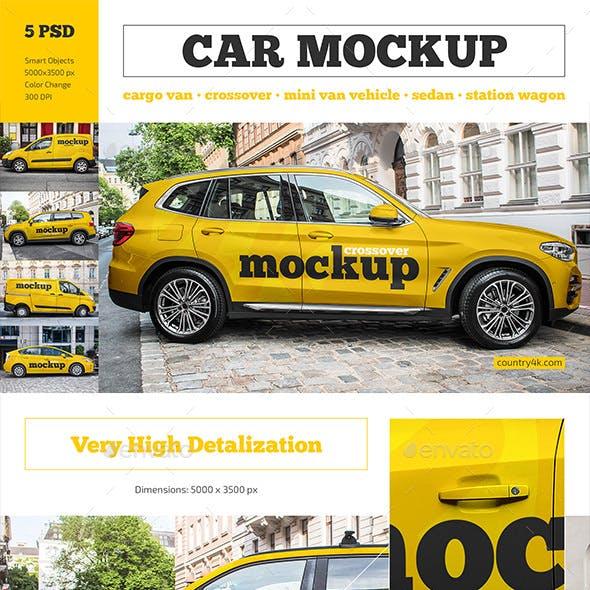 Car Mockup Set