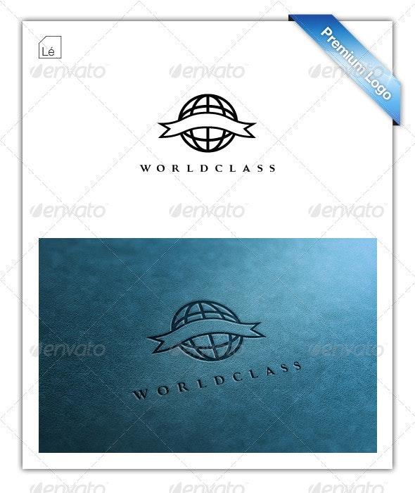 World Class Earth Globe Logo