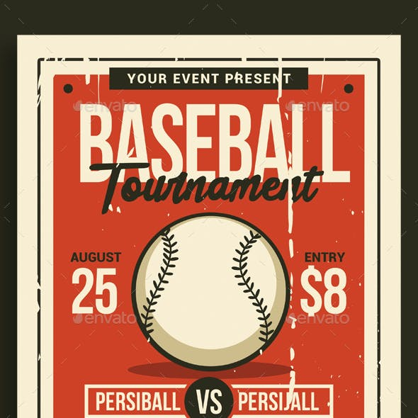 Baseball Tournament Flyer