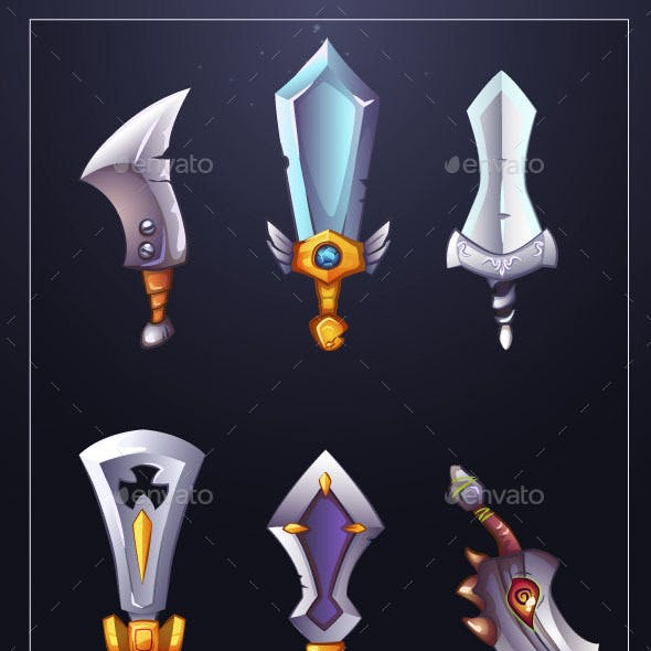 Fantasy Swords Pack