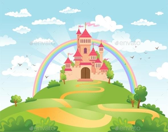 Fairy Tale Castle - Buildings Objects