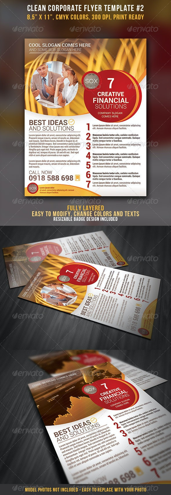 Clean Corporate Flyer #2 - Corporate Flyers