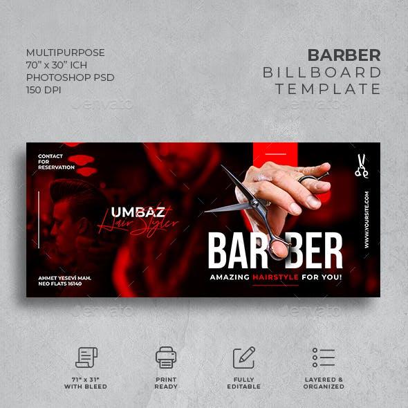 Barber Billboard