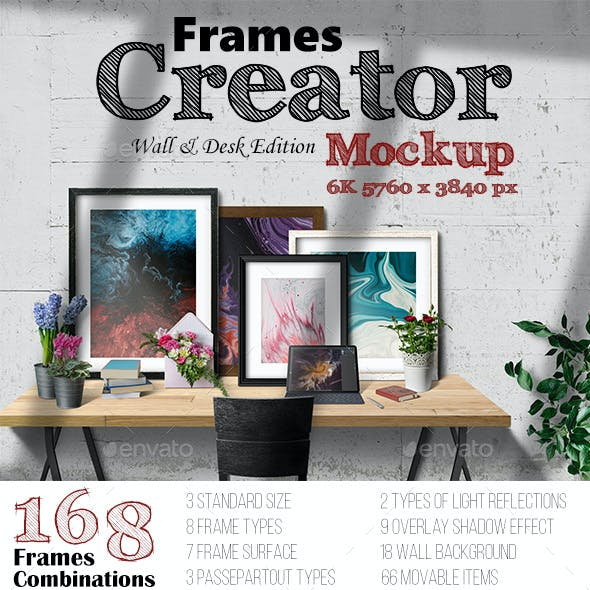 Frames Creator 6K Wall & Desk Edition