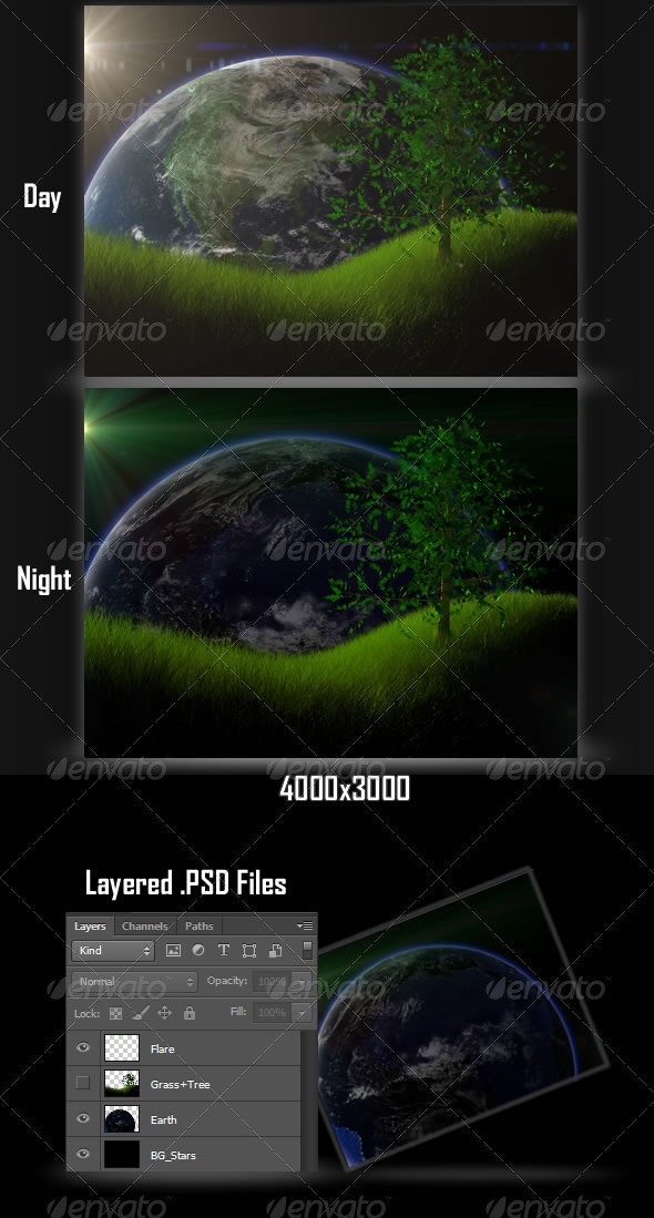 Space Grass Backgrounds - Miscellaneous Backgrounds