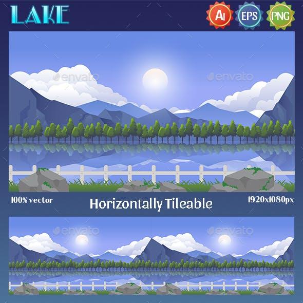 Game Background Lake