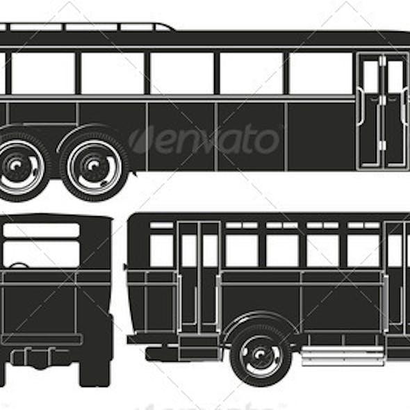 Retro Bus Set