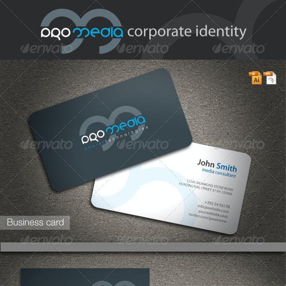 Pro Media Corporate Identity
