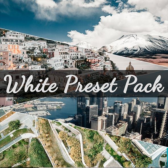 Clean White Presets Pack