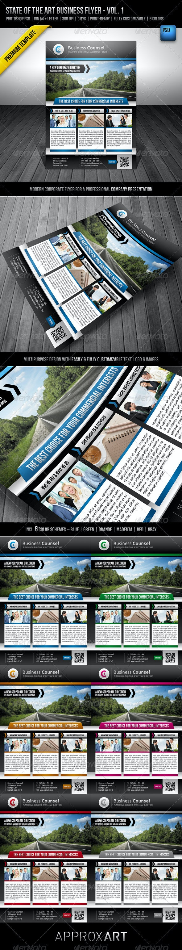 State of the Art Business Flyer - Vol. 1 - Corporate Flyers