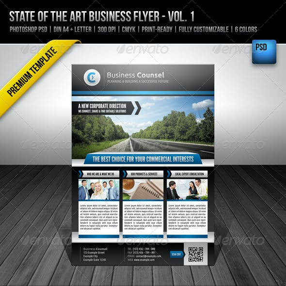 State of the Art Business Flyer - Vol. 1