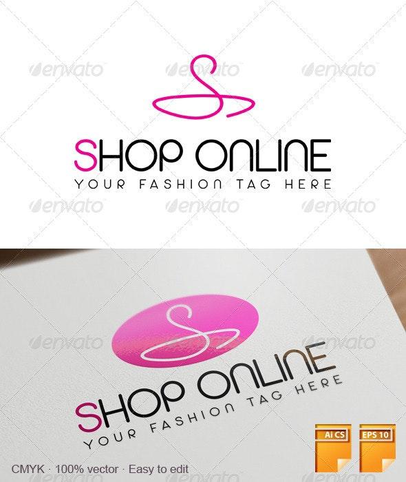 Shop Online Logo - Letters Logo Templates