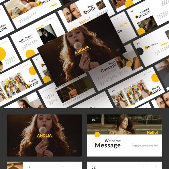 Anglia Powerpoint Template