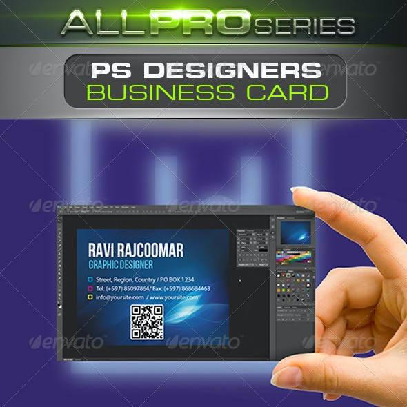 PS Designers Business Card