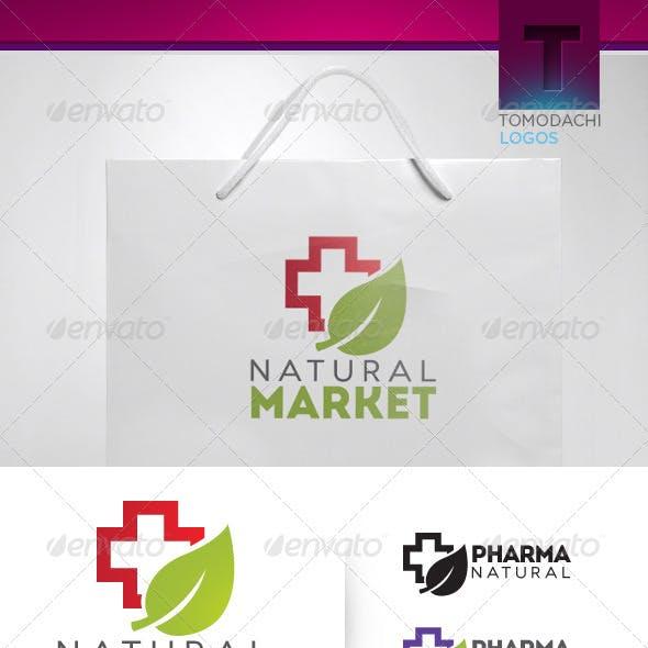 Health Logo Template · Natural Market