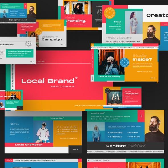 Local Brand Creative Powerpoint