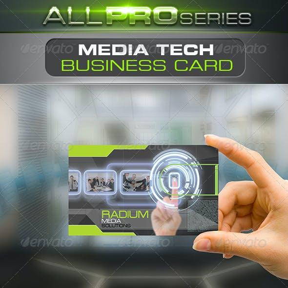 Media Tech Business Card