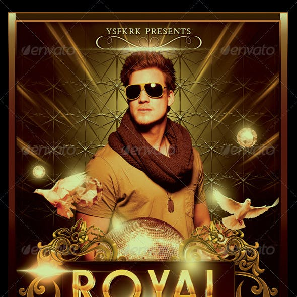 Royal Affair Flyer Template