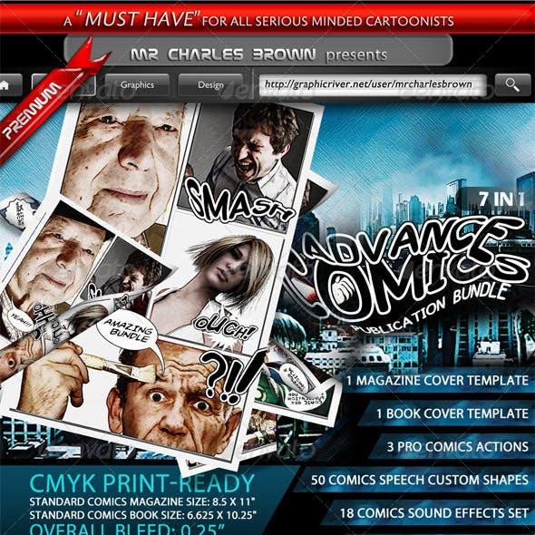 Advance Comics Publication Bundle