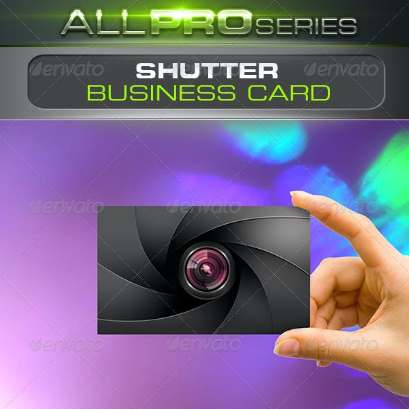 Shutter Business Card
