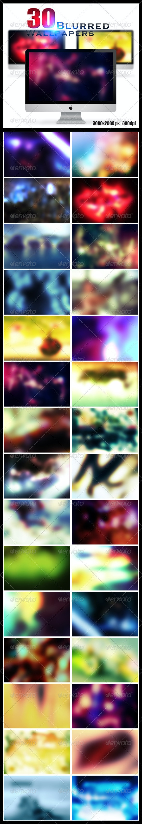 30 Blurred Wallpapers   Backgrounds - Backgrounds Graphics