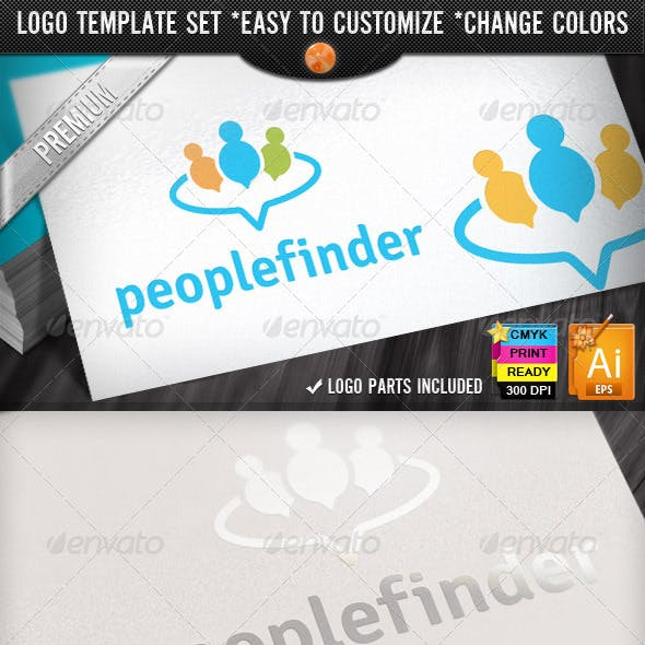 Circle Applications Social Chat People Finder Logo