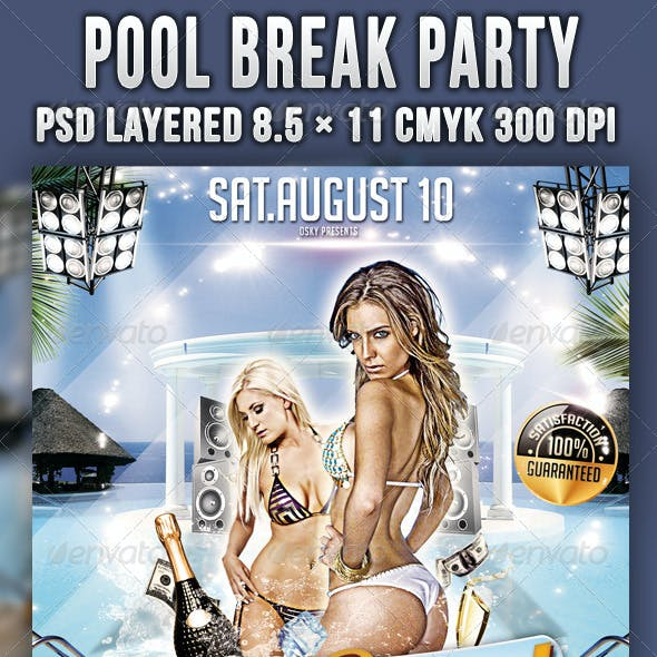 Pool Break Party