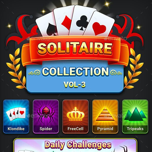 Solitaire Collection Game Kit (Vol-3)