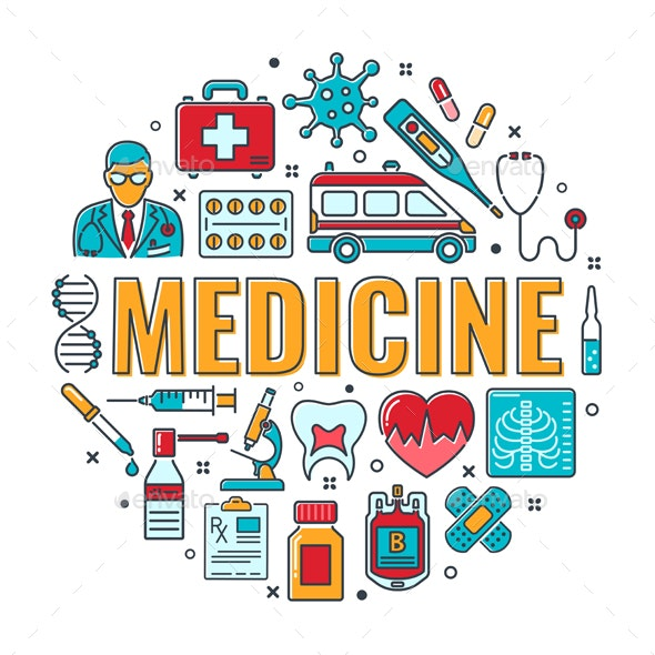 Medicine And Healthcare Banner By Talex Graphicriver