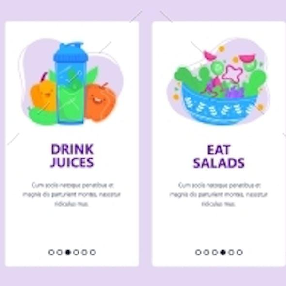 Healthy Lifestyle Concept Good Sleep and Fresh Food